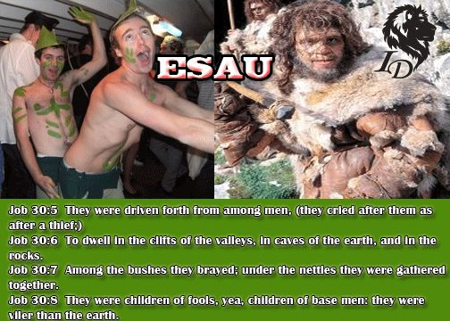 Image result for Esau and his Roman descendants