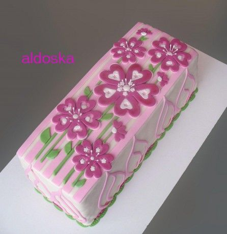 DORTY A SLADKOSTI aneb PEČEME S LÁSKOU - Fotoalbum - -MOJE PEČENÍ- - MOJE DORTY - My cakes - Kytky