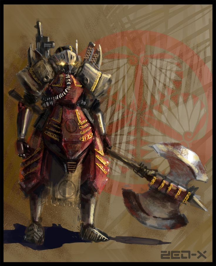 Steampunk Samurai   Steam Sams   Pinterest   Traditional ...