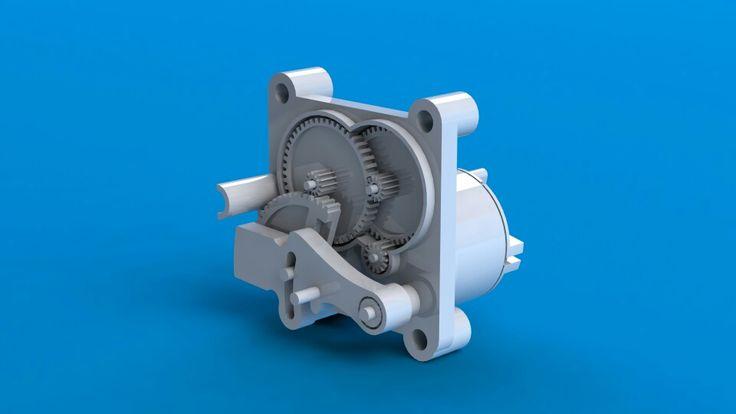 Motor mechanism in air freshener