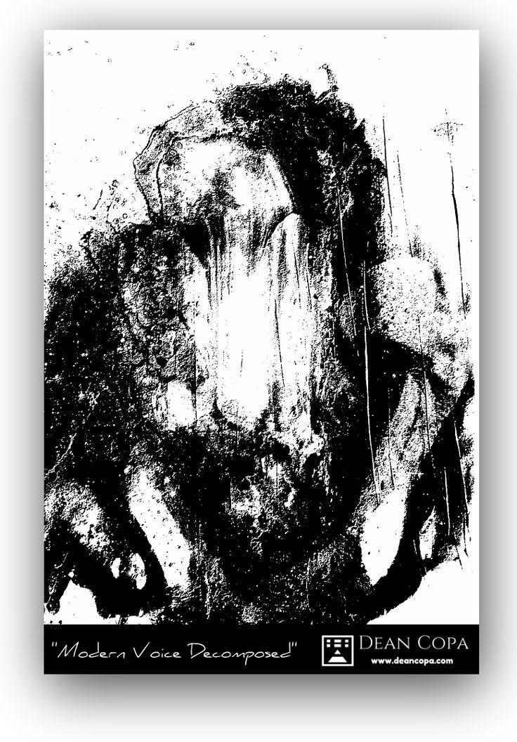 """Modern Voice Decomposed"" 2016 by Dean Copa. #DeanCopa #FineArt"