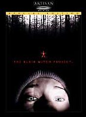 The Blair Witch Project DVD (1999) Heather Donahue • Michael C. Williams