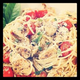 The Bloated Bride: Eat Yourself Skinny- Healthy Chicken Spaghetti