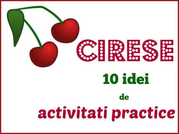 activitati practice cu cirese