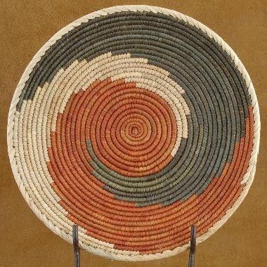 Navajo Indian Friendship Basket