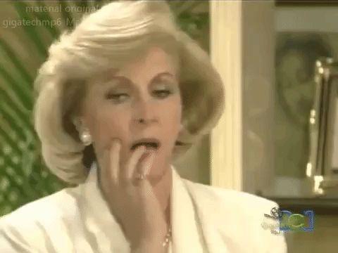 New party member! Tags: 90s worried maria concerned noventas telenovelas novelas televisa thalia maria la del barrio flustered preocupado ay mijito
