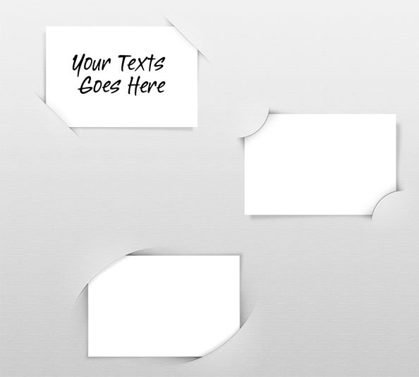 Free PSD Paper Holders - Free PSD Files