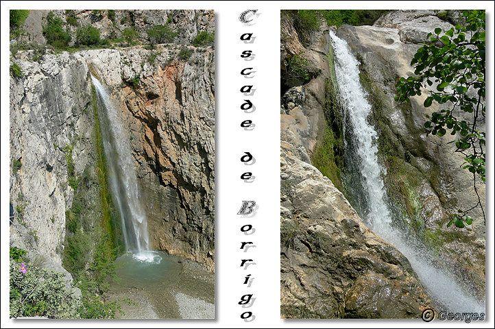 La cascade du Borrigo