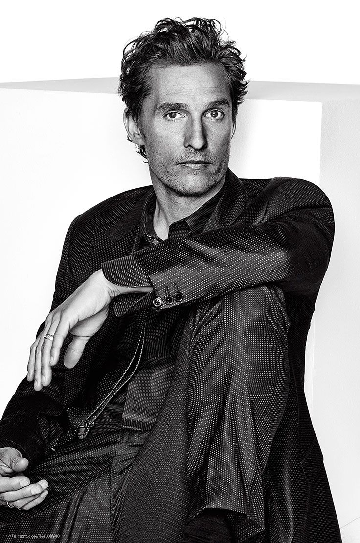 Matthew McConaughey (1969) - American actor. Photo by Eric Ray Davidson • 2014