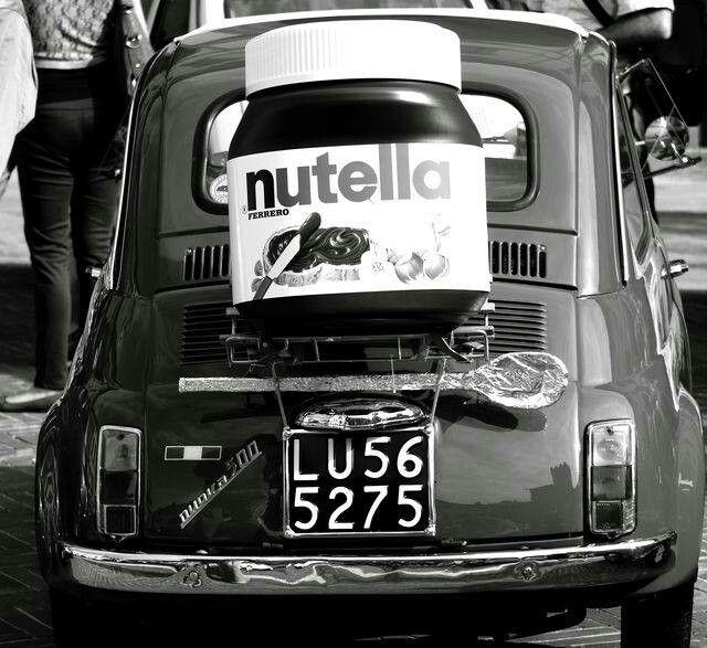 Fiat 500+ Nutella
