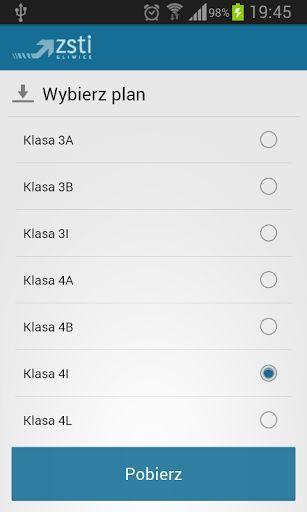 Aplikacja pozwalająca na szybkie sprawdzenie aktualnego planu lekcji Zespołu Szkół Techniczno-Informatycznych w Gliwicach. Plany są pobierane z tabel generowanych przez Vulcan.<p><br>Uwagi? Sugestie? Pisz śmiało.