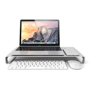 Satechi Support en aluminium de Haute Qualité Universel Aluminium Monocoque Moniteur / Ordinateur Portable / iMac / PC (Argent)