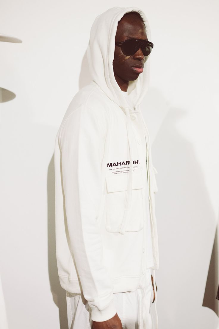 With Maharishi's theme to be that of a simultaneous contrasting existence of East vs. West, military vs. pacifist and homegrown vs. technology; this season really saw the brand highlighting the true importance of Mother Nature, the importance of her resources and our dependency on them.
