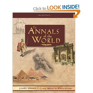 ANNALS OF THE WORLD: Amazon.ca: James Ussher: Books