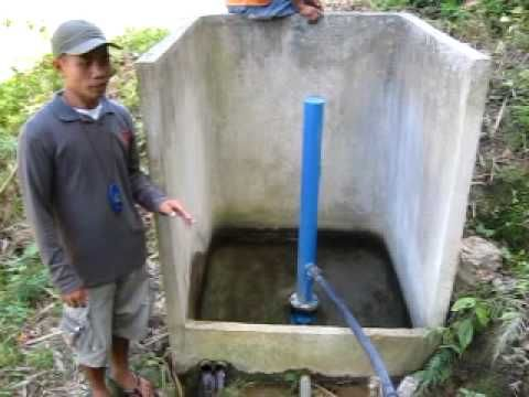 A water pump that needs no electricity or fuel...