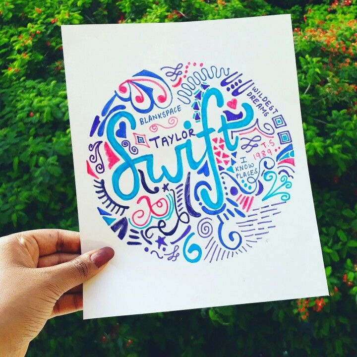 #DIY Taylor Swift Doodle