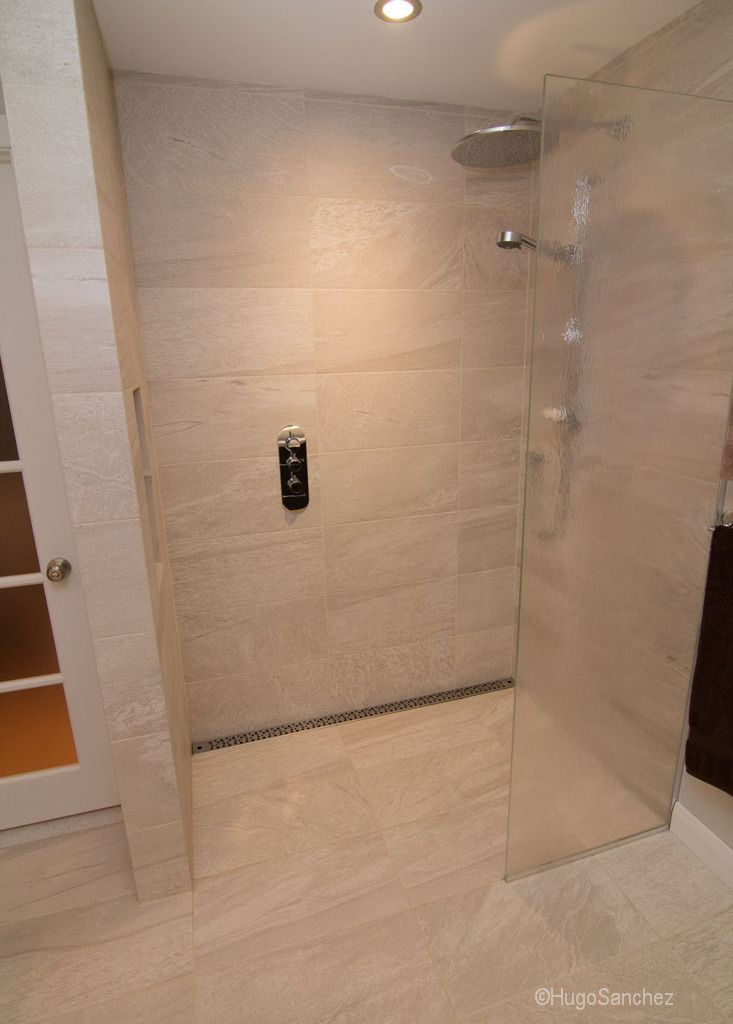 Stainless Steel Linear Drain Grate No Threshold Shower