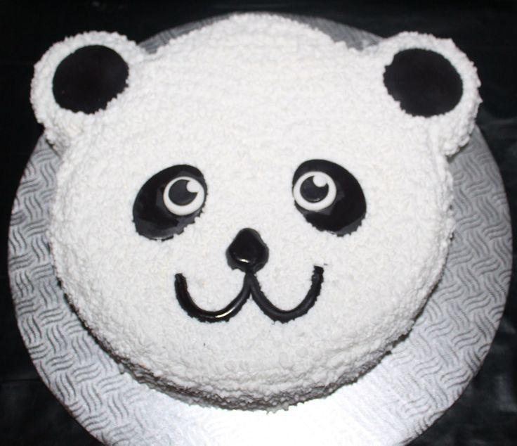 Gateau t te de panda cr ations vivi pinterest pandas - Tete de panda dessin ...