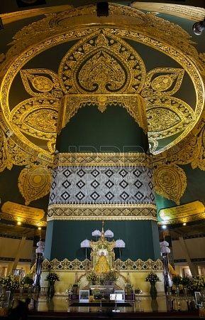 Uppatasanti Pagoda in Naypyidaw, Myanmar. Naypyidaw is the administrative capital of Myanmar.