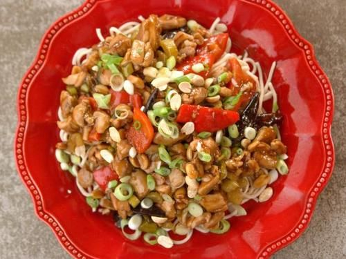 """Kung Pao Chicken (Just For Kicks) - """"The Pioneer Woman"""", Ree Drummond on the Food Network."""