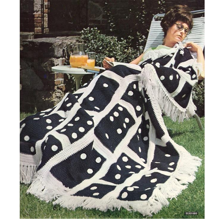 domino afghanCrochet Blankets, Domino Afghans, Crochet Projects, Crochet Afghans, Afghans 1968This, Afghans National, Afghans Pattern, Crochet Knits, Bernat Afghans