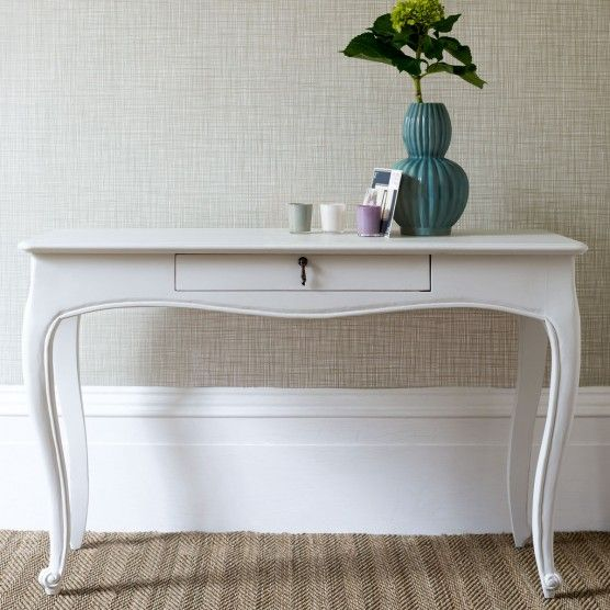 Marie Console Table - White Painted Finish