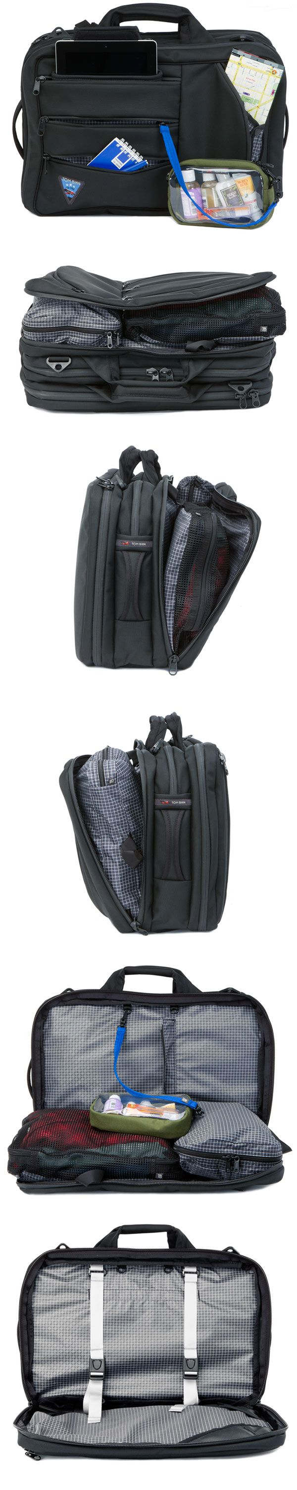 Tri-Star carry-on travel luggage. Made in USA.