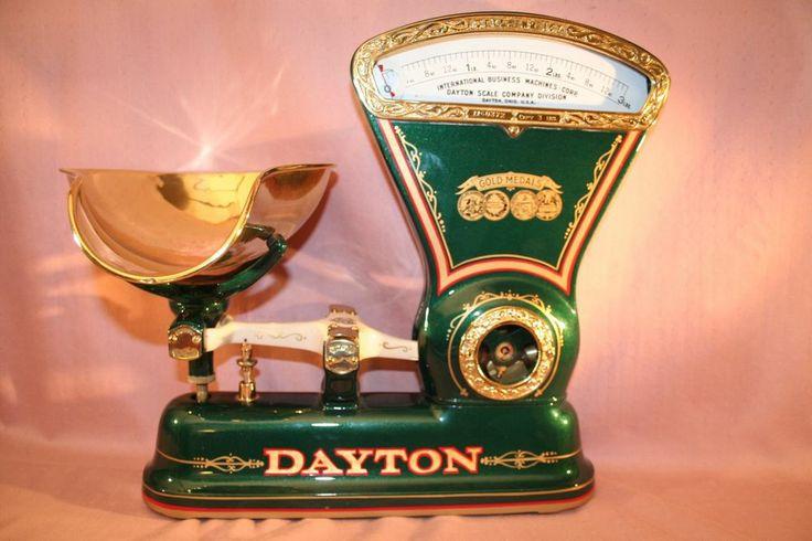 Vintage dayton ibm model167 restored candy scale * 1906