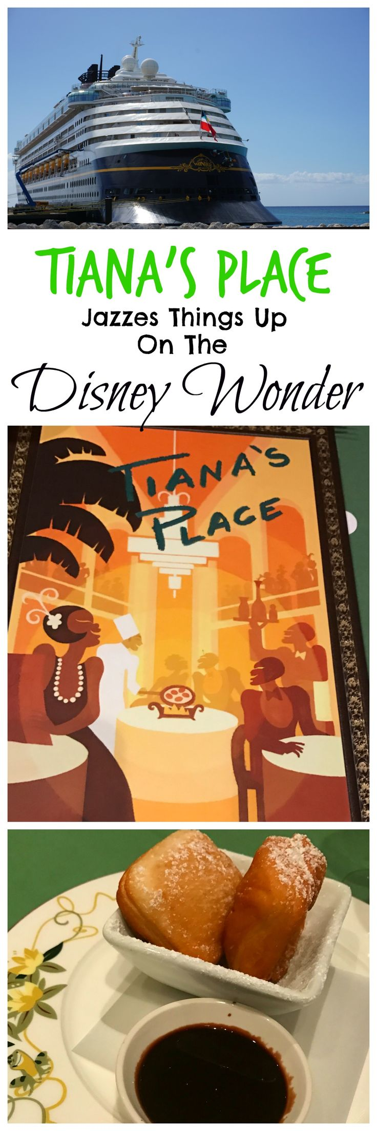 Tiana's Place Jazzes Things Up On The Disney Wonder