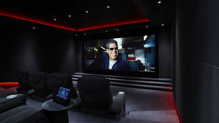 Bespoke home cinema room commissioned | Janes Architectural