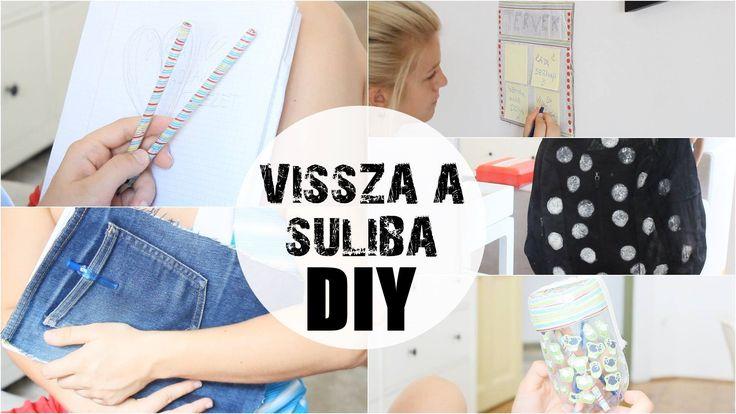Vissza a Suliba // DIY Sulis Kellékek (Táska, Ceruza, Füzet stb.) ● Foll...