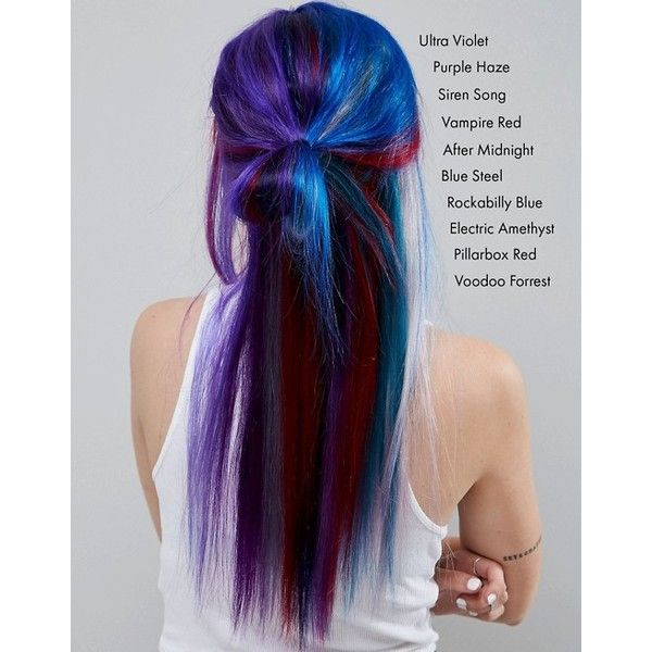 Manic Panic NYC Classic Semi Permanent Hair Colour Cream - Purple Haze (£12) ❤ liked on Polyvore featuring beauty products, haircare and hair color