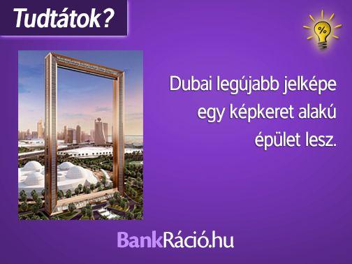 Dubai legújabb jelképe egy képkeret alakú épület lesz. Forrás: http://vilagszam.hu/cikkek/ez-lesz-dubaj-legujabb-jelkepe-150-meter-magas-ablakkeret-formaju-epuletet-terveznek.html/6718