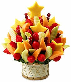 Edible Arrangements  * If the strawberries were dipped in    chocolate, this would be       perfection!