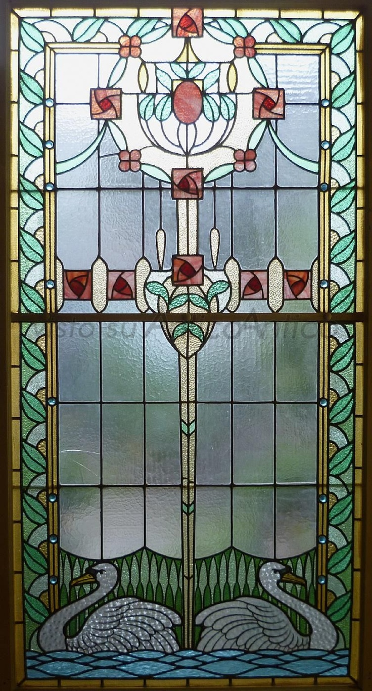 Leaded glass designs for windows -  Liberty Glass Art