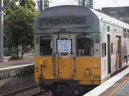 Image result for old comeng trains