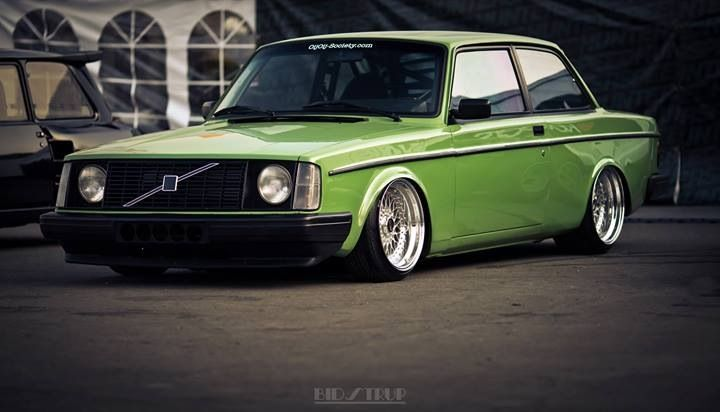 Volvo 242 | Slammed Volvo | Pinterest | Volvo