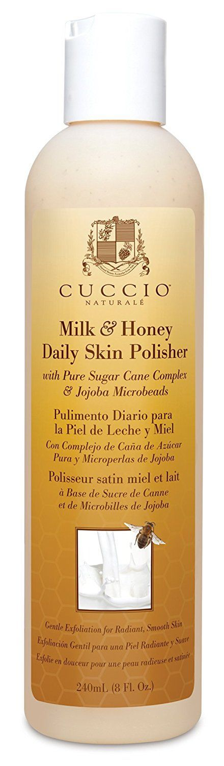 Cuccio Daily Skin Polish, Milk and Honey, 8 Ounce *** To view further, visit now : Face Exfoliators, Polishes and Scrubs