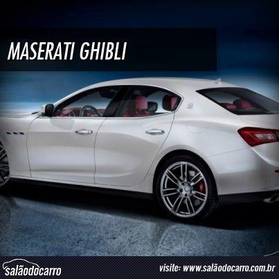 Maserati Ghibli reestiliza modelo após 47 anos  » www.salaodocarro.com.br/lancamentos/maserati-ghibli.html