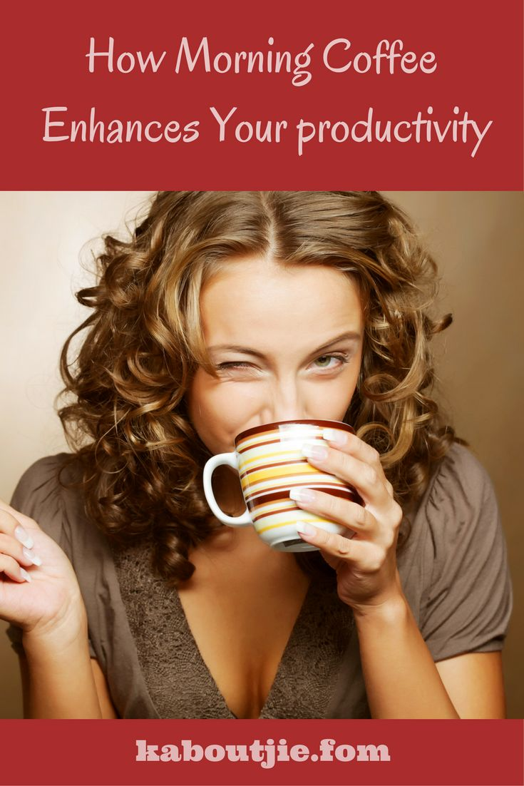 While many people associate drinking coffee with many negatives there are actually loads of benefits that come with drinking coffee from enhancing your productivity to reducing your chances of developing cancer.   Here's how drinking morning coffee enhances your productivity.  #GuestPost  #Coffee #BenefitsCoffee #DrinkingCoffee
