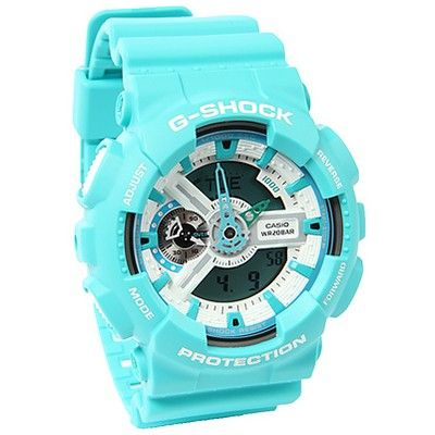 Exactly like my G-Shock watch except mine is black,white,dark blue,and purple