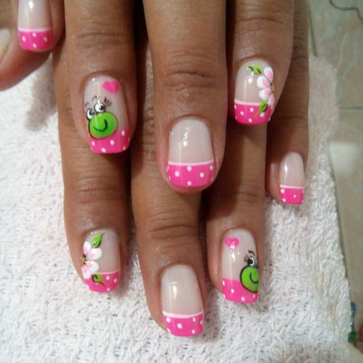 Pin by norma elena on u as pinterest manicure crazy - Unas decoradas faciles ...