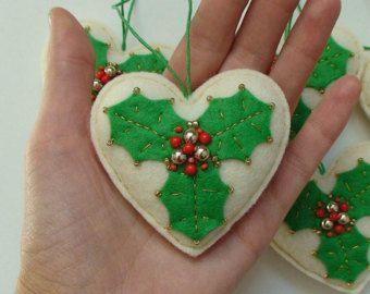 Ornamenti di Natale decorazioni di Natale SET di di DevelopingToys