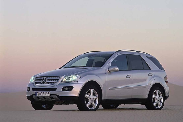 my (current) everyday ride... Mercedes-Benz ML320 CDI