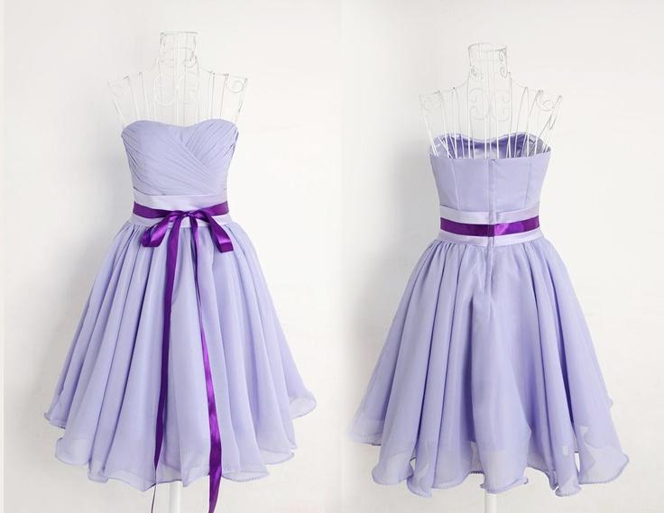 3 Colors Romantic Angel Purple Elegant  Gown/ Bridesmaid Dress/ Long Dress. $60.00, via Etsy.