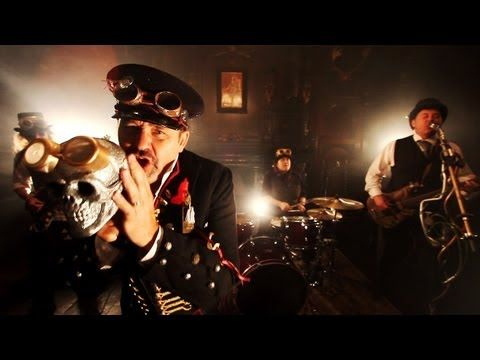 Steampunk Vampire Music Video - 'Goodbye Happiness' by Birthrite - Theme from 'Blood and Bone China'