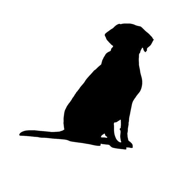 Vinyl Decal: Labrador Retriever 1 by MythicMerchandise on Etsy