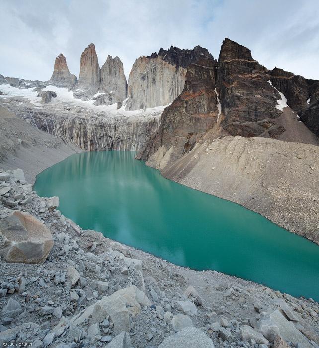 hike to Las Torres, Patagonia