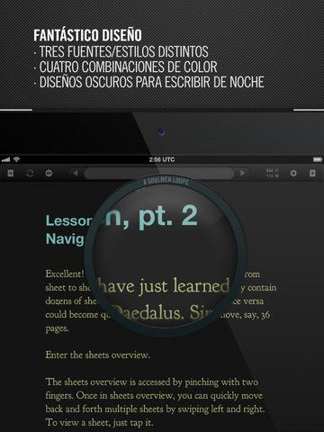 Daedalus Touch. Editor de texto con sincronización para iCloud | iPad Books
