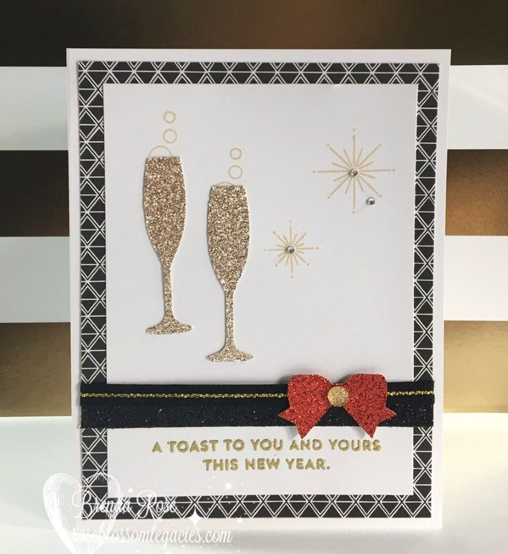 Welcome to the Rose Blossom Blog Hop!     We are here today to show you the fun new Stamp of the Month, New Year Cheer. We are excited...